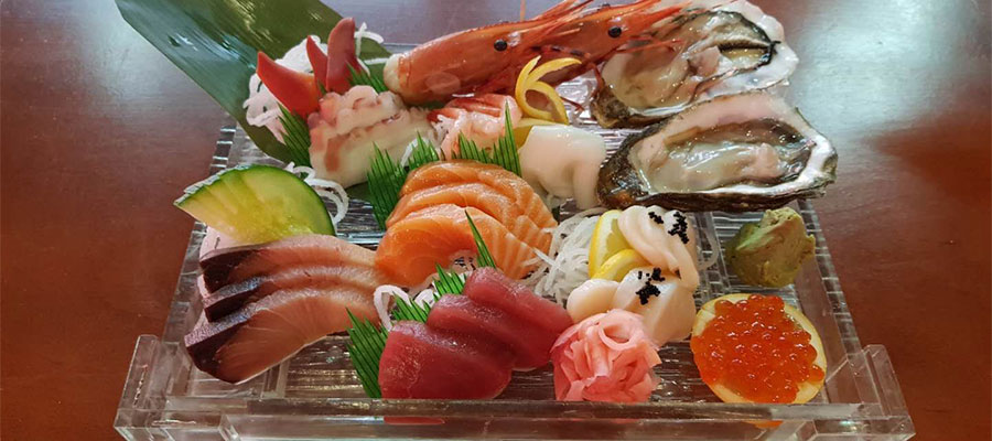 126 SASHIMI FAMILY SET